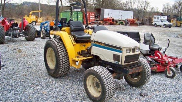 Cub Cadet Compact Tractors : Cub cadet compact tractor