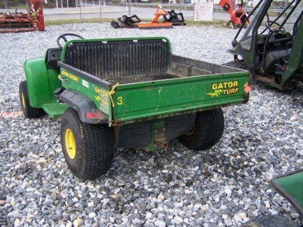 110: John Deere Turf Gator Utility Vehicle, Manual Dump - 3