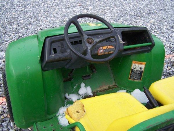 110: John Deere Turf Gator Utility Vehicle, Manual Dump - 4