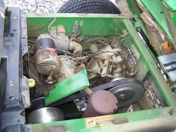 110: John Deere Turf Gator Utility Vehicle, Manual Dump - 5