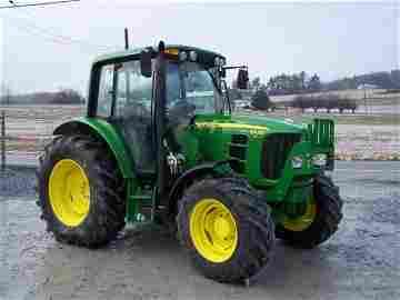 199: John Deere 6430 Premium 4x4 Farm Tractor w/ Cab