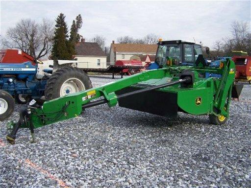 170: Nice John Deere 525 8' MoCo Discbine for Tractors