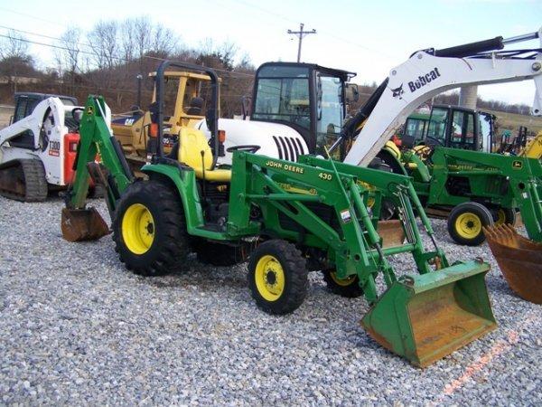 240: John Deere 4310 4x4 Compact Tractor Loader Backhoe