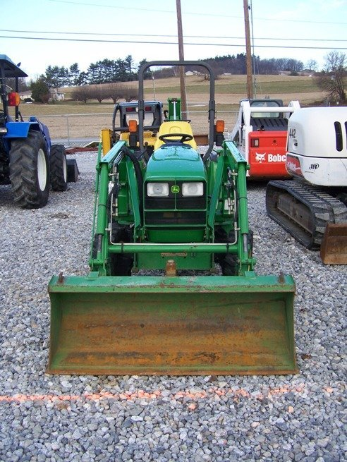 240: John Deere 4310 4x4 Compact Tractor Loader Backhoe - 2