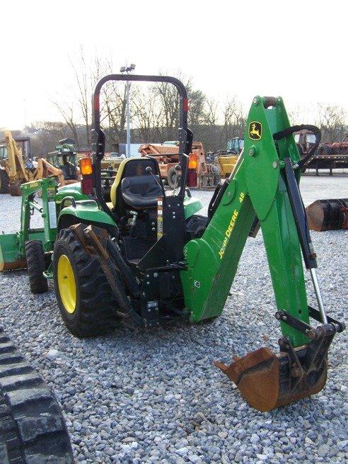240: John Deere 4310 4x4 Compact Tractor Loader Backhoe - 4
