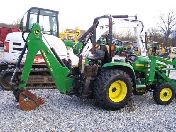 240: John Deere 4310 4x4 Compact Tractor Loader Backhoe - 5