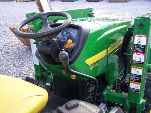 240: John Deere 4310 4x4 Compact Tractor Loader Backhoe - 6