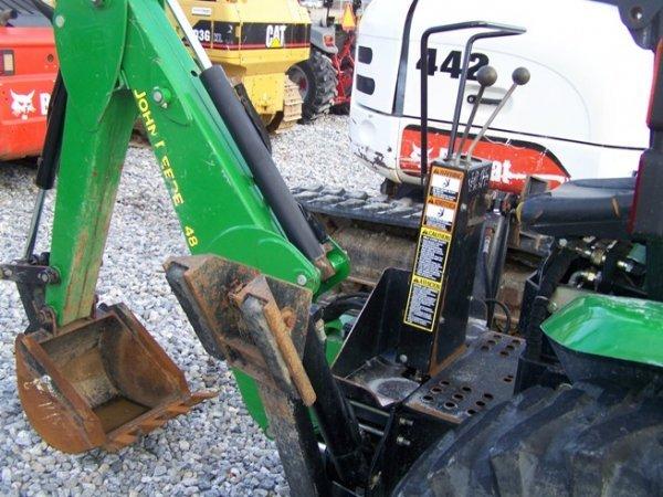 240: John Deere 4310 4x4 Compact Tractor Loader Backhoe - 7