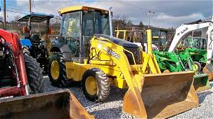 239: 2003 John Deere 310SG 4x4 Tractor Loader Backhoe