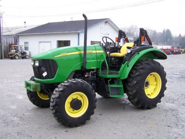 249: John Deere 5325 4x4 Platform Tractor, Loader Valve - 3