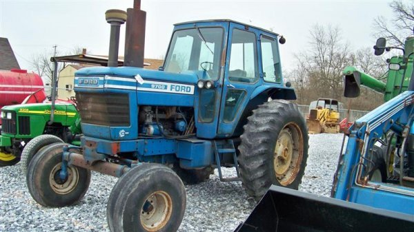 312A: Ford 9700 Farm Tractor with Cab,  Dual Power - 2