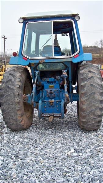 312A: Ford 9700 Farm Tractor with Cab,  Dual Power - 4
