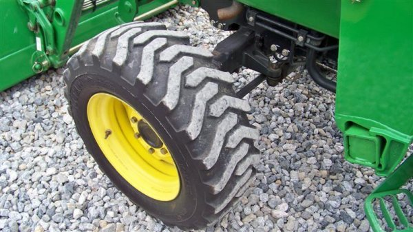 245: John Deere 4710 4x4 Compact Tractor with Loader - 10