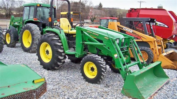 245: John Deere 4710 4x4 Compact Tractor with Loader