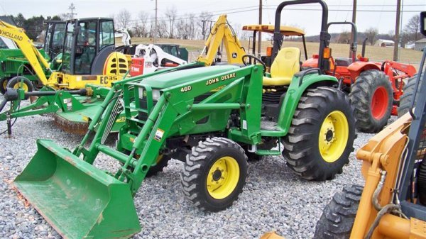245: John Deere 4710 4x4 Compact Tractor with Loader - 2
