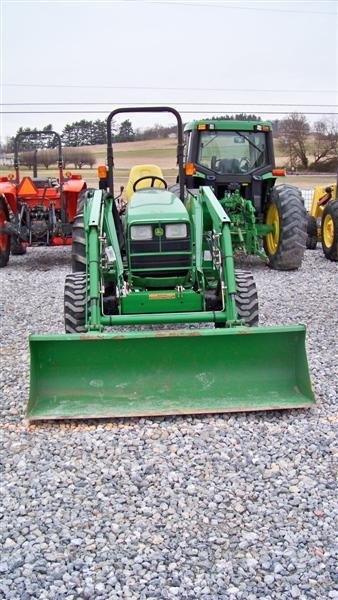 245: John Deere 4710 4x4 Compact Tractor with Loader - 3