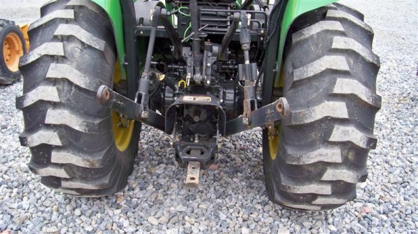 245: John Deere 4710 4x4 Compact Tractor with Loader - 5