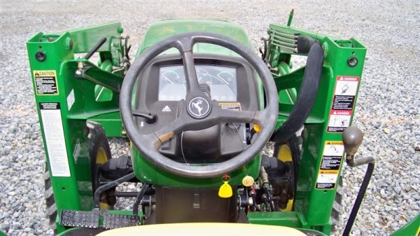 245: John Deere 4710 4x4 Compact Tractor with Loader - 6