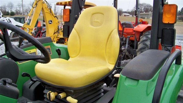 245: John Deere 4710 4x4 Compact Tractor with Loader - 7
