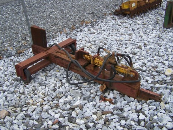 33: Pull Type Hydraulic Drive Log Splitter for Tractors