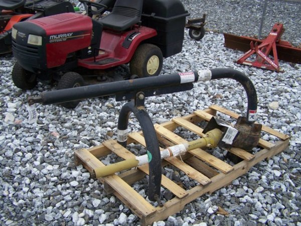 45: Greenline 3pt Post Hole Digger for Tractors