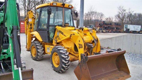 433: Nice JCB 210S 4x4 Tractor Loader Backhoe, EROPS