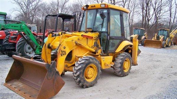 433: Nice JCB 210S 4x4 Tractor Loader Backhoe, EROPS - 2