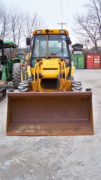 433: Nice JCB 210S 4x4 Tractor Loader Backhoe, EROPS - 3
