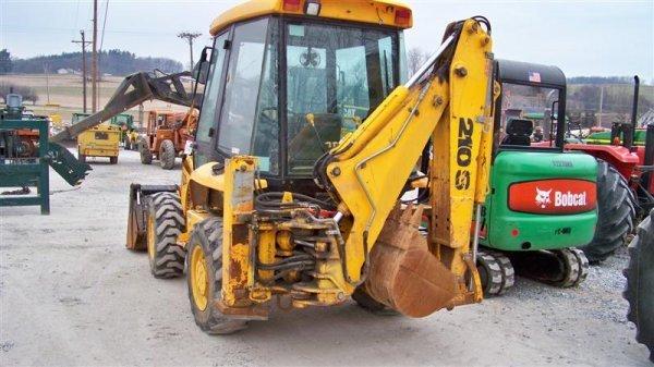 433: Nice JCB 210S 4x4 Tractor Loader Backhoe, EROPS - 4