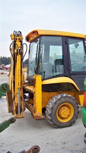 433: Nice JCB 210S 4x4 Tractor Loader Backhoe, EROPS - 5
