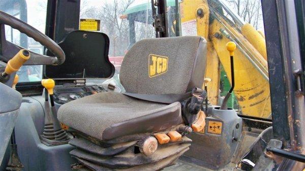 433: Nice JCB 210S 4x4 Tractor Loader Backhoe, EROPS - 8