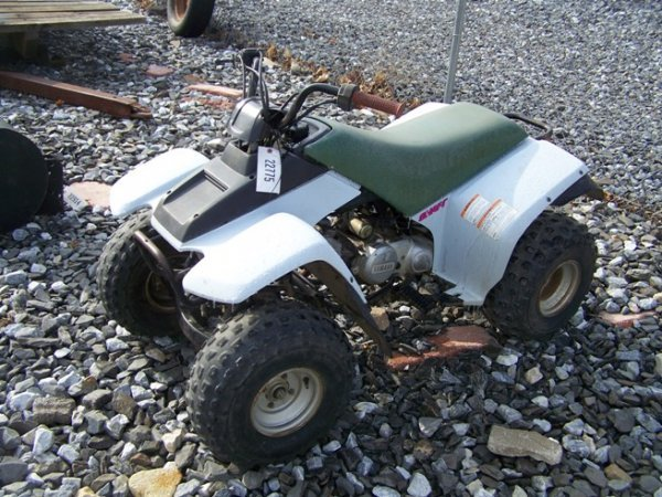 66: Yamaha 90CC Shaft Drive 4 Wheeler