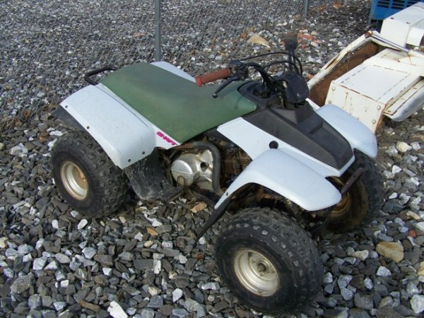 66: Yamaha 90CC Shaft Drive 4 Wheeler - 2