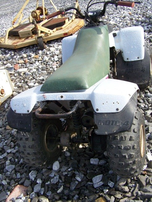 66: Yamaha 90CC Shaft Drive 4 Wheeler - 3