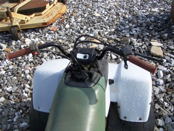 66: Yamaha 90CC Shaft Drive 4 Wheeler - 5