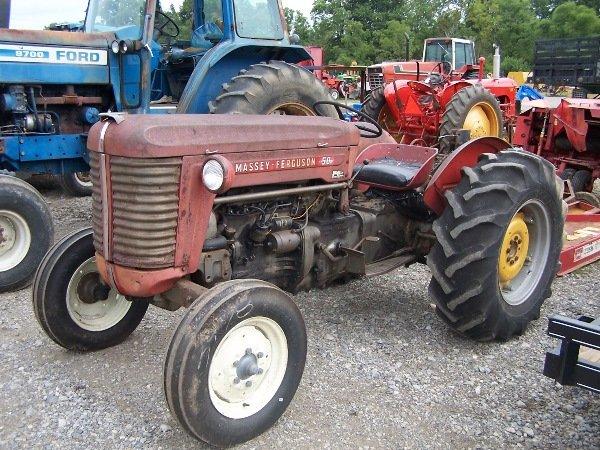 5: Massey Ferguson 50 Tractor