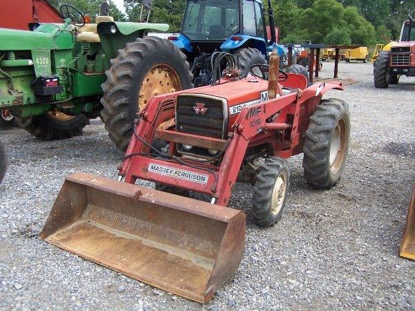 11: Massey Ferguson 210-4 Tractor w/ Loader