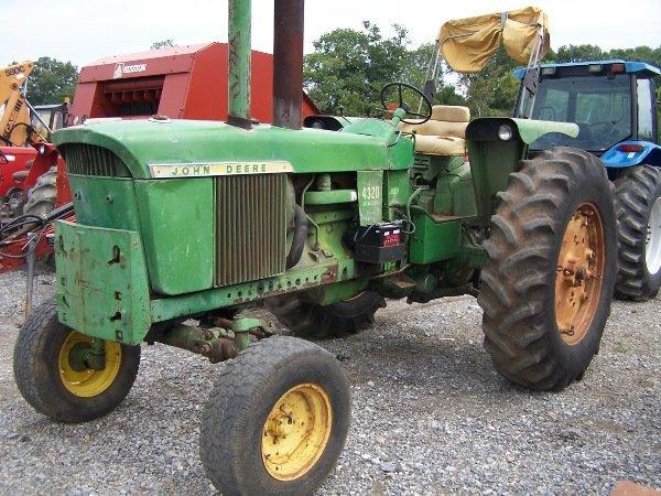 12: John Deere 4320 Tractor