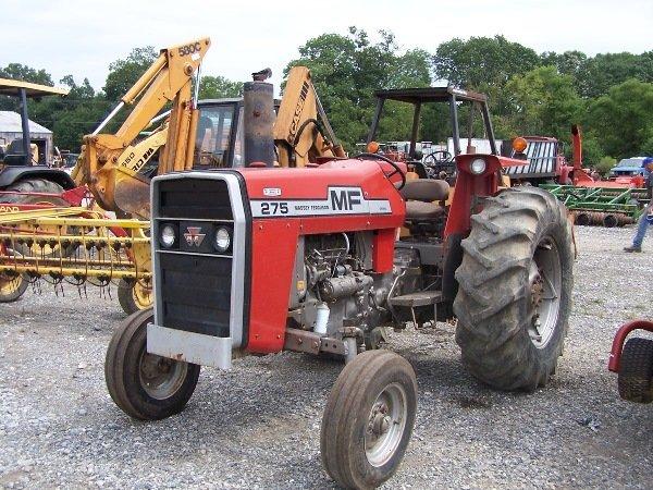 14: Massey Ferguson 275 Tractor