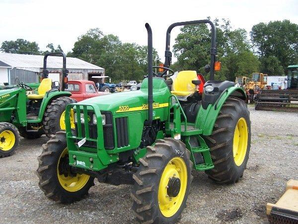 21: John Deere 5320 Tractor  w/ Loader Kit