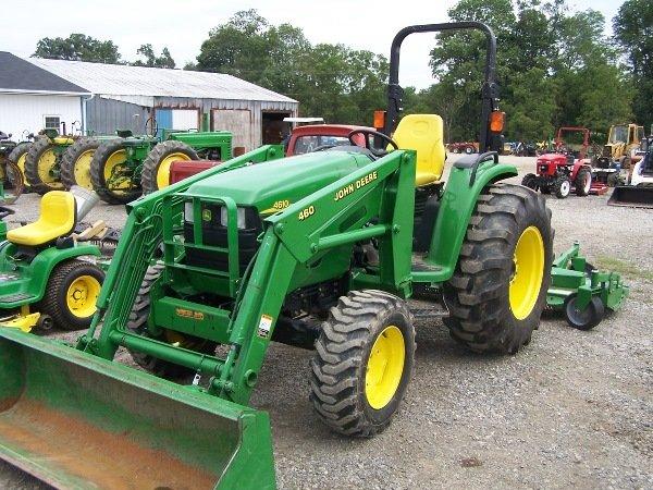 23: John Deere 4610 Tractor w/ 460 Loader