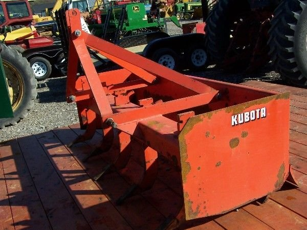 2: KUBOTA 4 FT  BOX BLADE FOR COMPACT TRACTOR