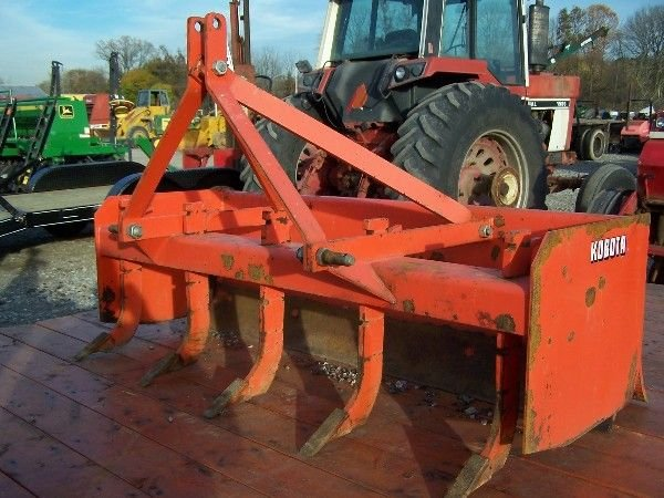2: KUBOTA 4 FT  BOX BLADE FOR COMPACT TRACTOR - 4