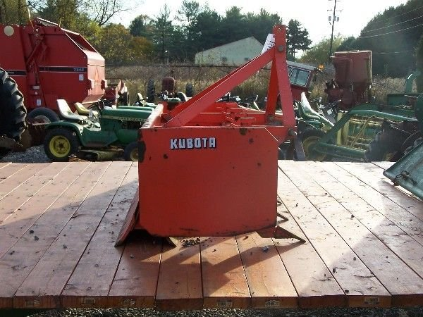 2: KUBOTA 4 FT  BOX BLADE FOR COMPACT TRACTOR - 5