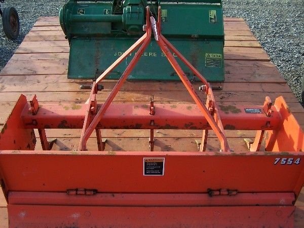 2: KUBOTA 4 FT  BOX BLADE FOR COMPACT TRACTOR - 7