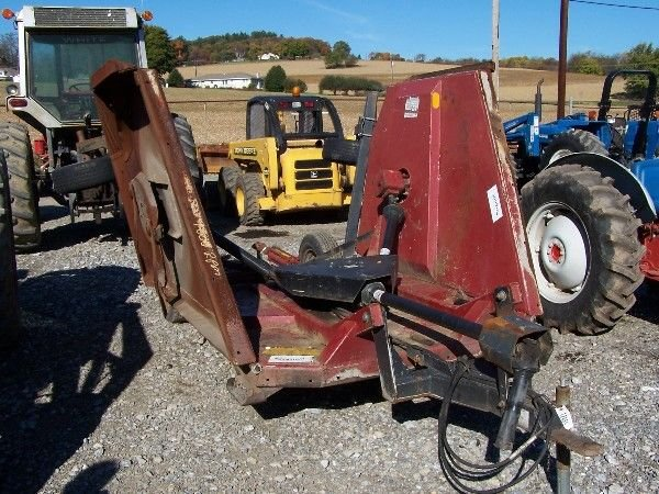 11: M&W 15 ft Bat wing mower for tractors, 1000 rpm