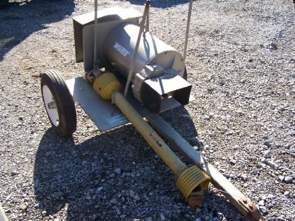 "12: WINCO PTO GENERATOR ""UNUSED"" ON CART FOR TRACTOR"