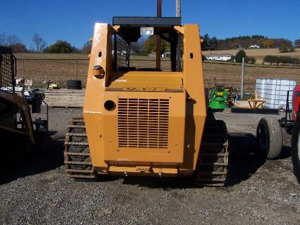 26: CASE 1845C SKID STEER W/ BUCKETS AND TRACKS  - 2