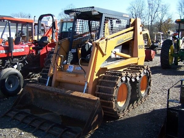 26: CASE 1845C SKID STEER W/ BUCKETS AND TRACKS  - 5