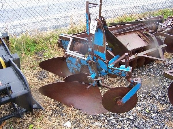"102: FORD 2 x 3PT PLOW FOR TRACTOR ""HARD TO FIND"""
